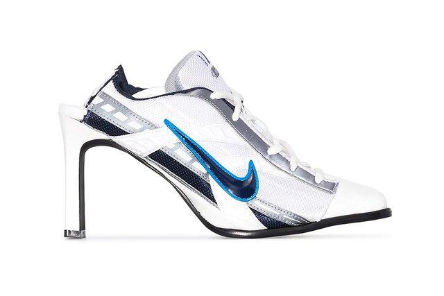Максимально необычно: дизайнер создает кроссовки Nike на каблуке (фото)  - фото 4