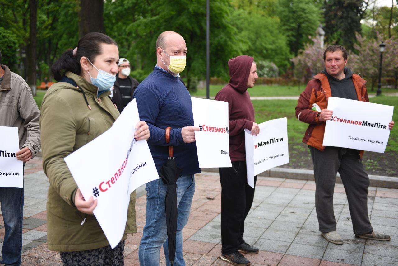 Мітинг за відставку глави МОЗ Степанова був проплаченим (ФОТО) - фото 4