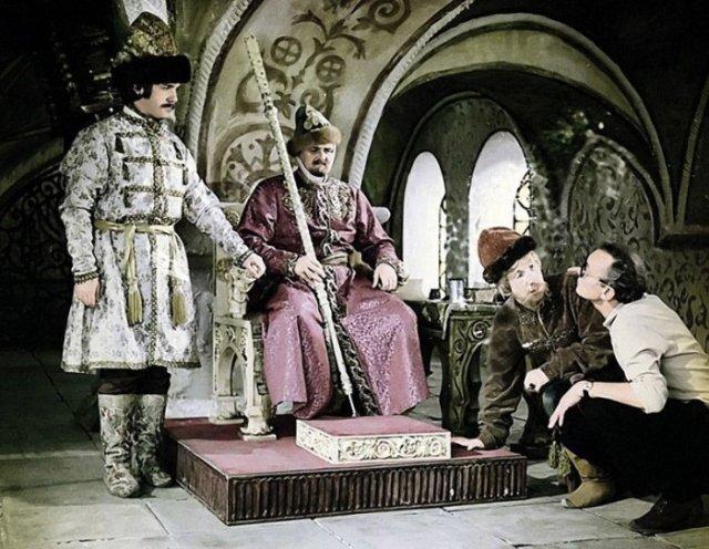 Приятная ностальгия: фото со съемочных площадок советских фильмов - фото 7