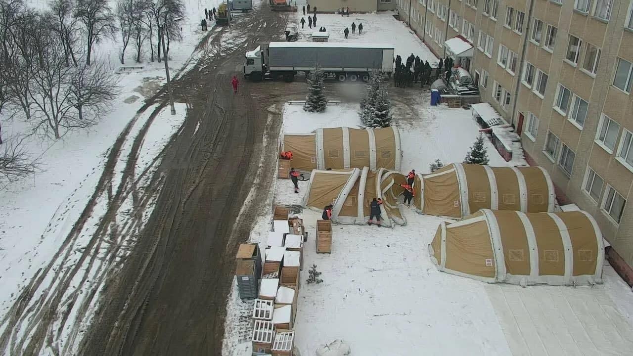В Украине заработал первый мобильный госпиталь для коронавирусных больных (ФОТО) - фото 2
