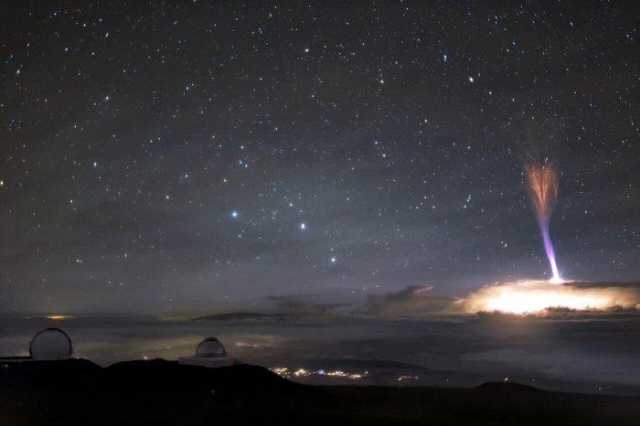 Над гавайських небом зафіксували рідкісне явище (ФОТО) - фото 2