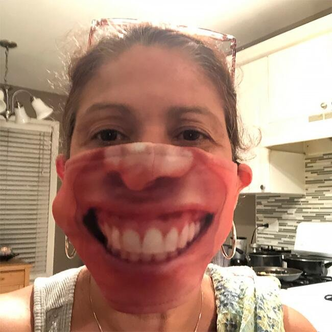 Маски, що імітують особи - 20+ найсмішніших фото - фото 2