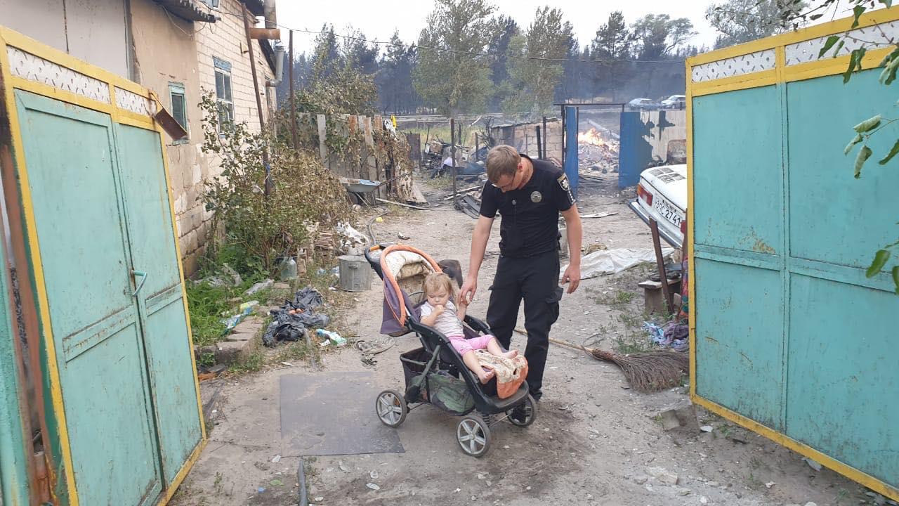 Пожары в Луганской области: устрашающие фото масштабного огня - фото 11