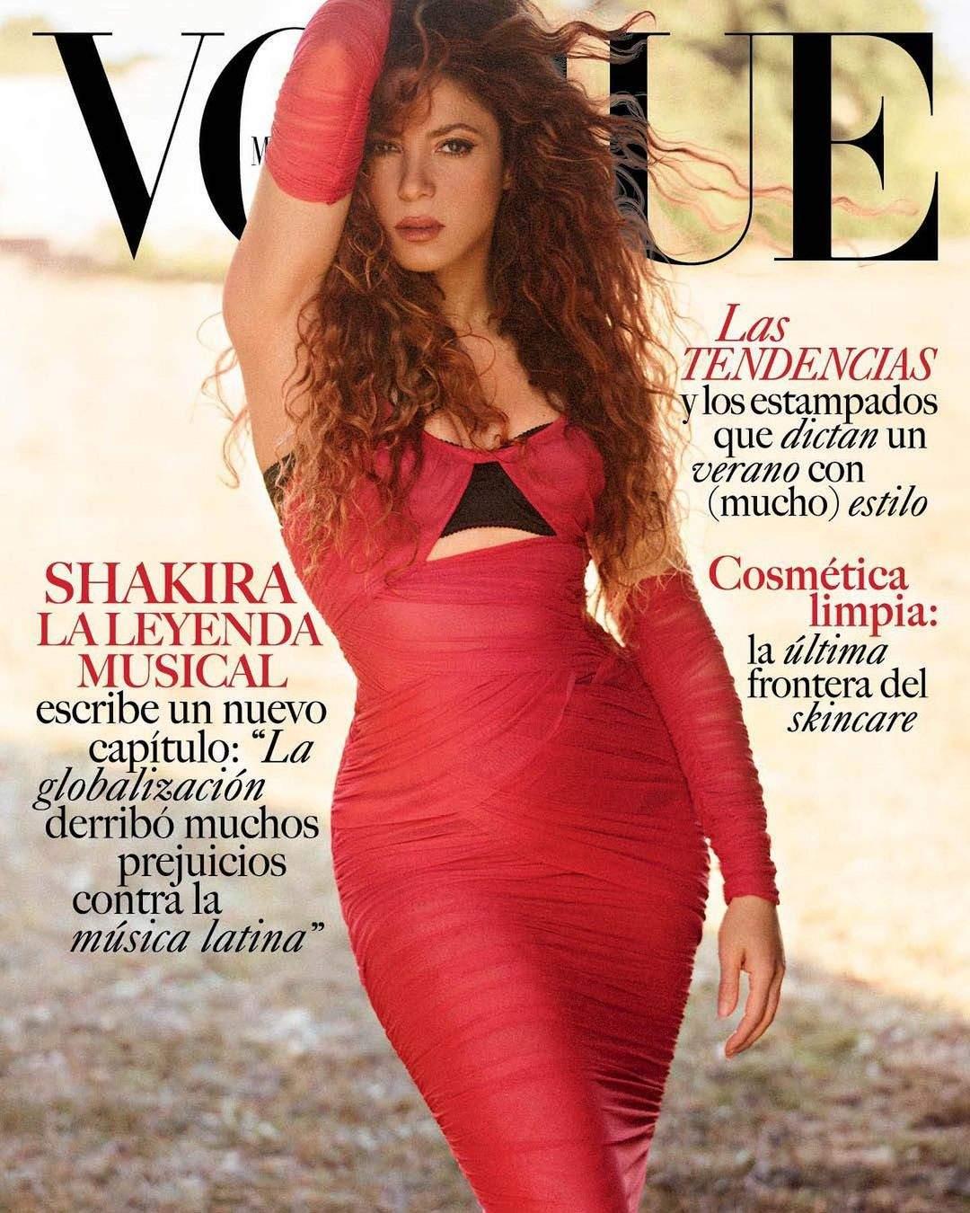 Шакіра стала зіркою мексиканського Vogue (ФОТО) - фото 2