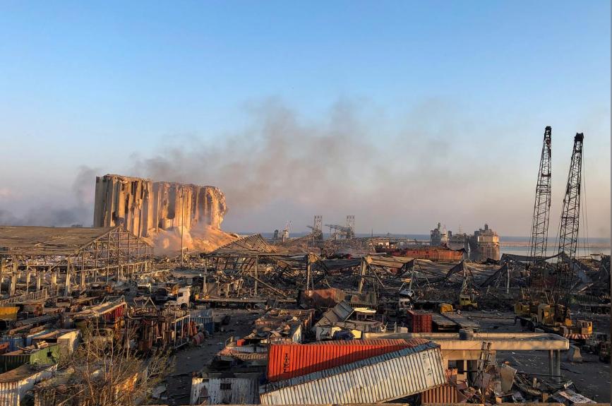 В результаті вибухів в Бейруті постраждали українці та кораблі з Маріуполя (ФОТО) - фото 2