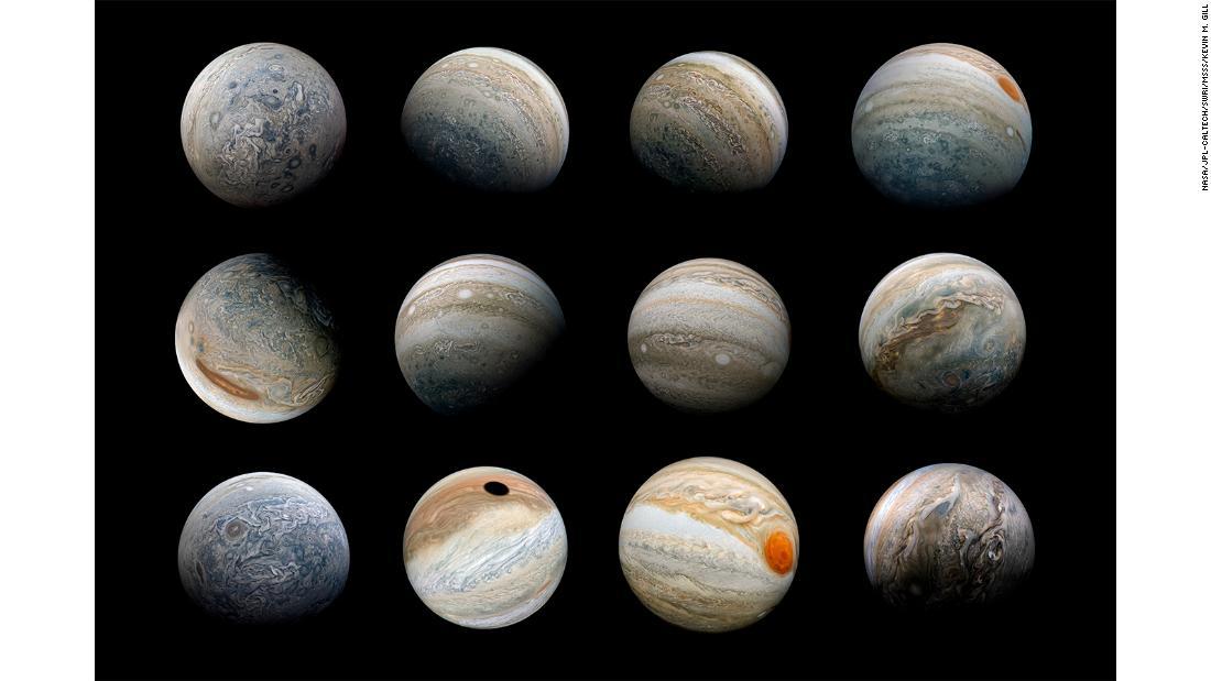 НАСА опубликовало фото поверхности и магнитных колебаний Юпитера - снимки как из фантастического фильма - фото 2