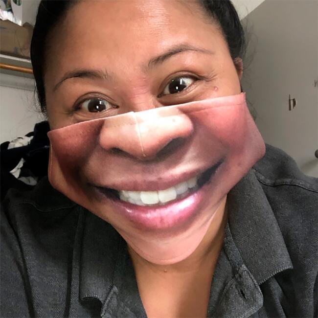 Маски, що імітують особи - 20+ найсмішніших фото - фото 16