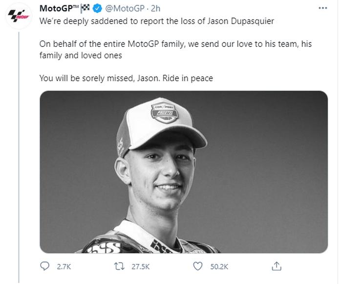 После страшной аварии скончался 19-летний гонщик Moto3 - фото 2