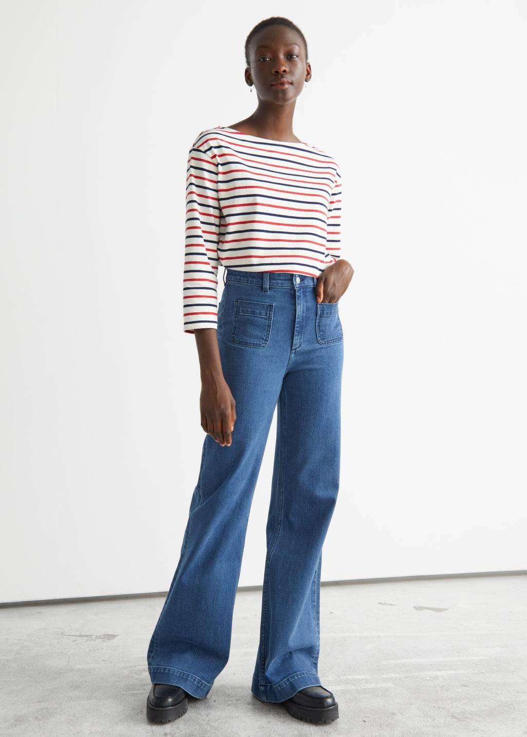 Какая модель джинсов вернулась в моду в 2021 году  - фото 6