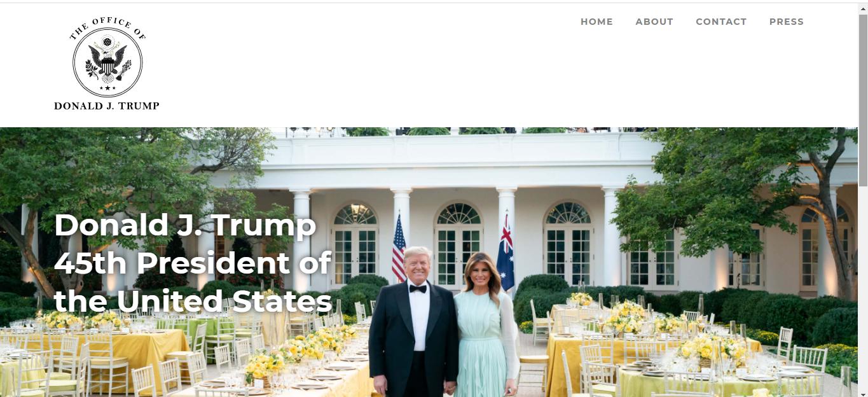 Трамп запустил свой сайт (Фото) - фото 2