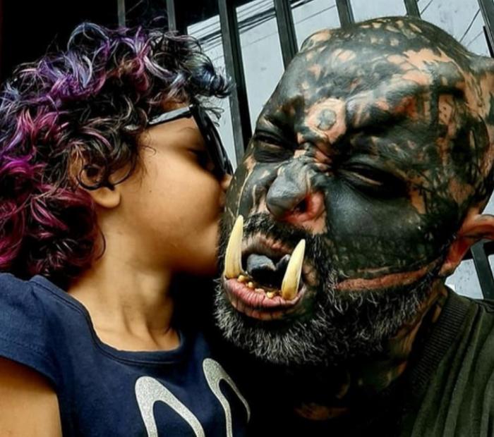 Бразилець перетворив себе в орка з «Володаря кілець» (ФОТО) - фото 3