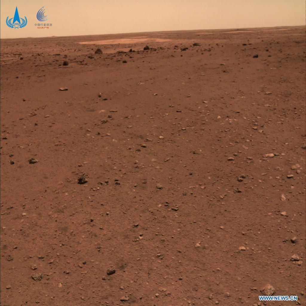 """""""Космічне селфі"""": китайський ровер зробив нові фото з Марса - фото 3"""