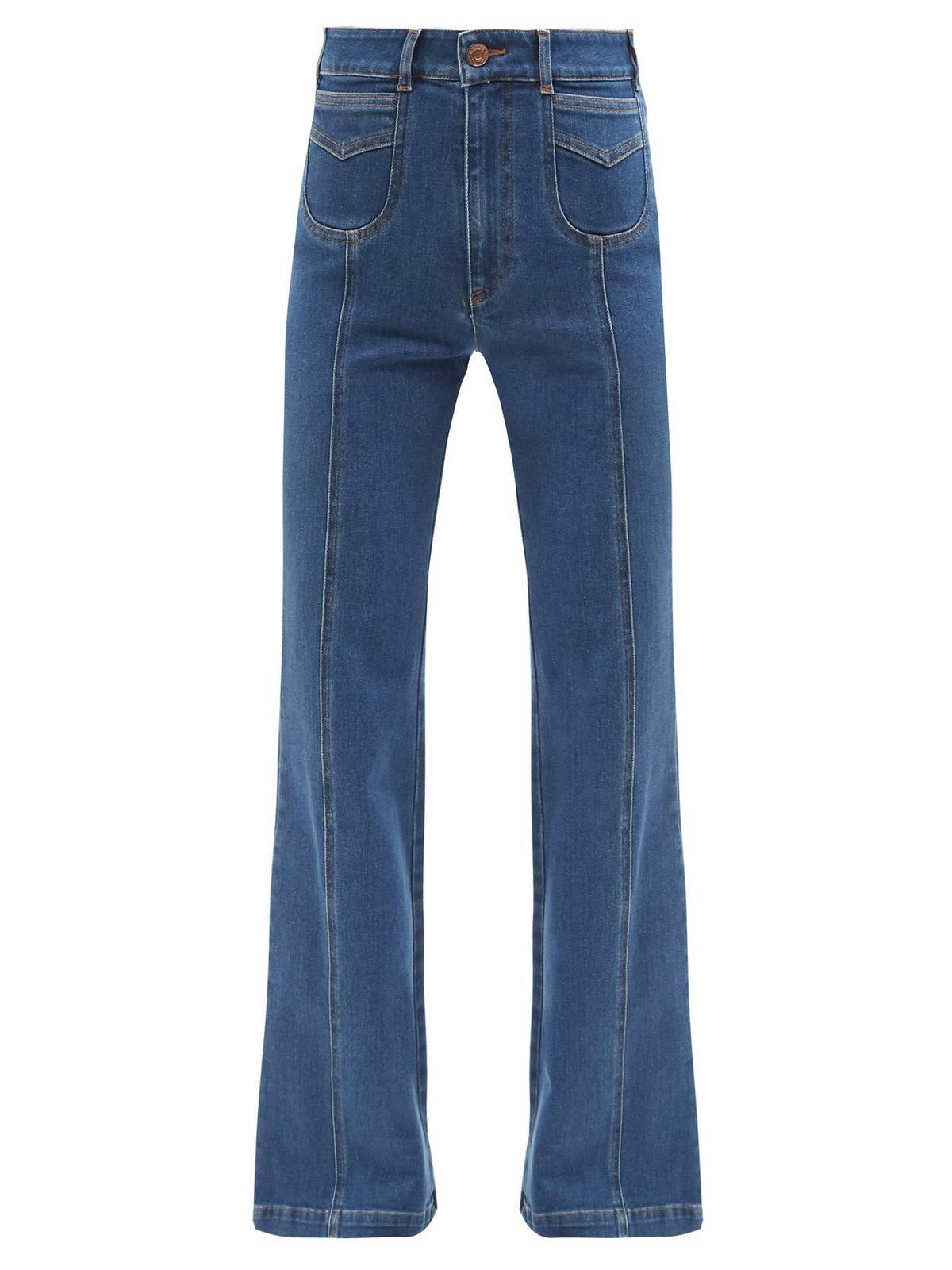 Какая модель джинсов вернулась в моду в 2021 году  - фото 4