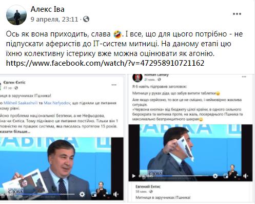 Ентис и Саакашвили против Ивашковича: что стоит за скандалом из-за «настоящего руководителя» Гостаможни - фото 3